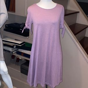 Gap purple T-shirt dress